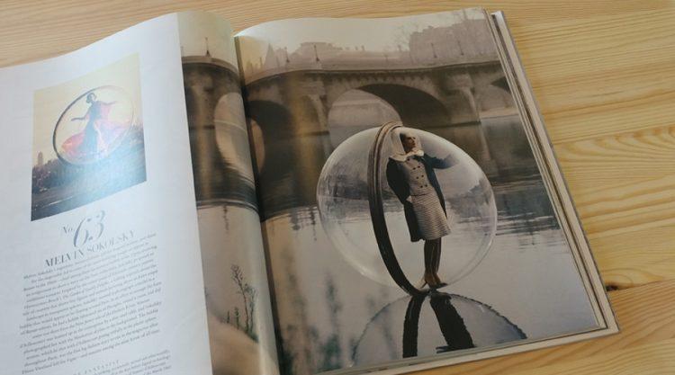 """צילום נופי פריז דרך בועת פרספקס. """"סדרת הבועה"""", יצירתו של הצלם Melvin Sokolsky"""