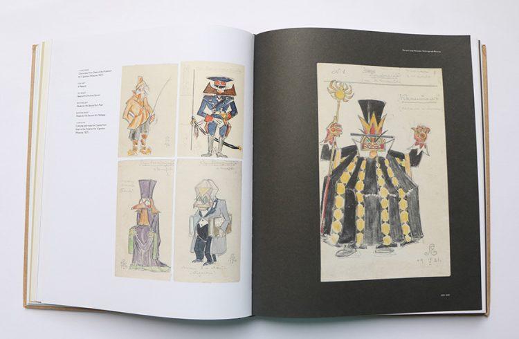 """עיצוב דמויות למחזה (1921) """"Down of the Proletkult"""" מאת V.Ignotov"""