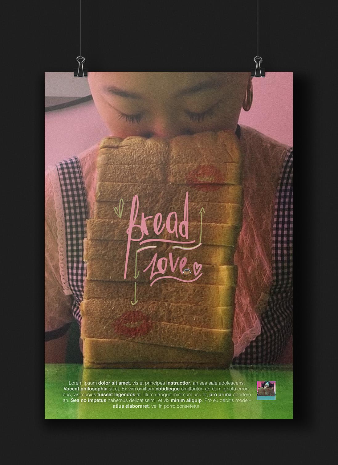 אהבה ללחם: כרזה. לינור פינטו