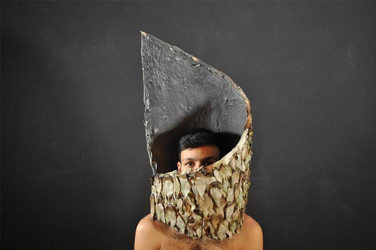 מעטפת הראש של תומר עמרני, בהנחיית גל גאון ורותם אוטבייב גיא. צילום: תומר עמרני
