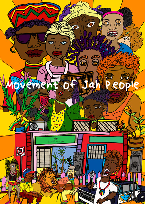 Movement of Jah People, ישי גרייזמן
