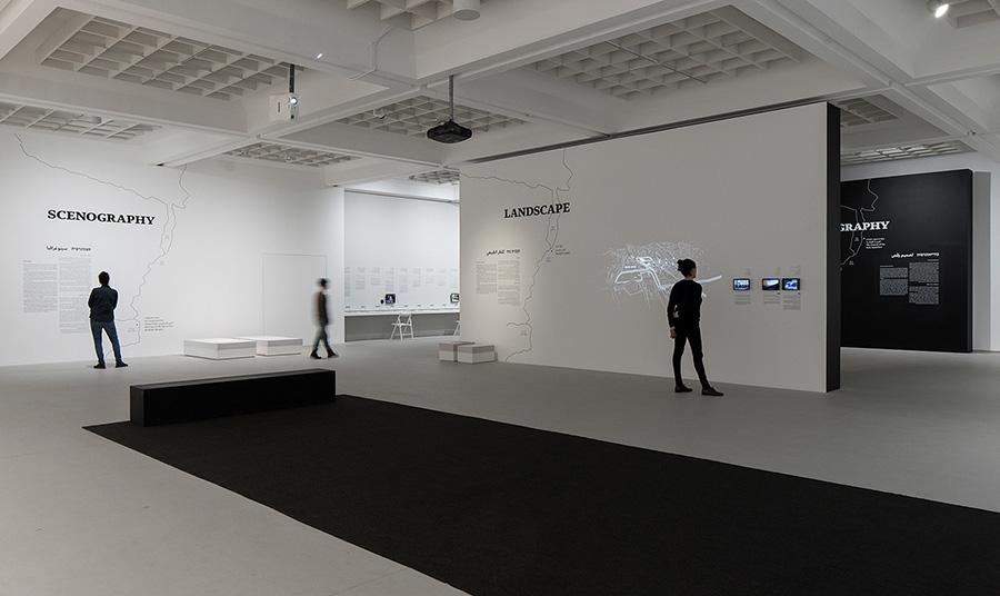 חלל התערוכה. צילום: שיתוף רשתות מוזיאון תל אביב לאמנות, הדס שפירא יחסי ציבור