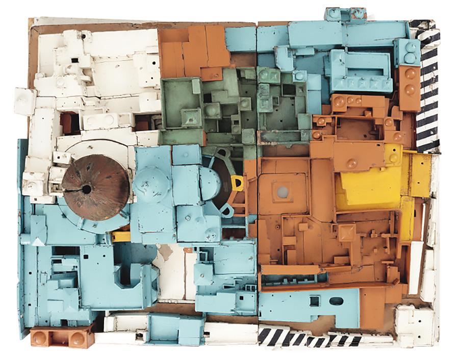 מודל של כנסיית הקבר, קונרד שיק, 1862. צילום: שיתוף רשתות מוזיאון תל אביב לאמנות, הדס שפירא יחסי ציבור