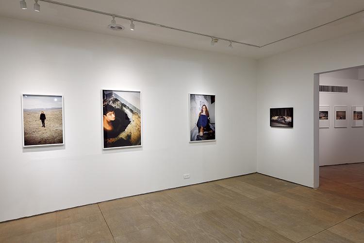 חלל התערוכה. צילום: דפנה גזית