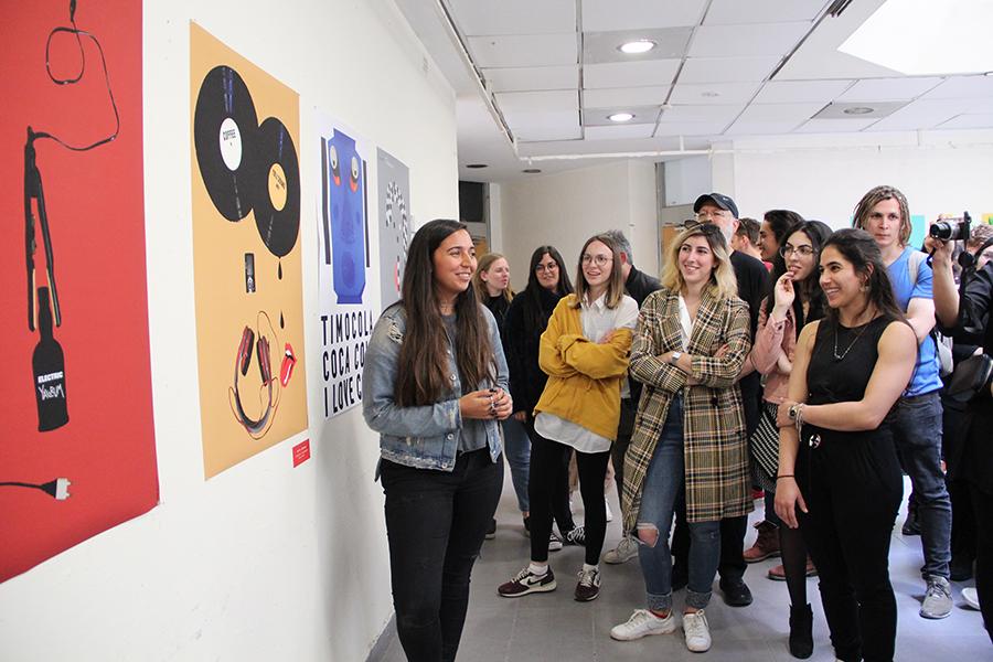 הסטודנטים והמעצבים משתתפי