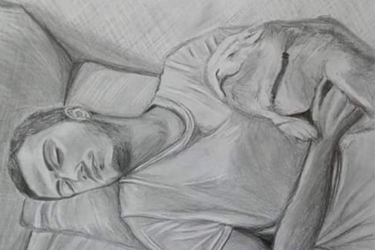 רישום בעפרון