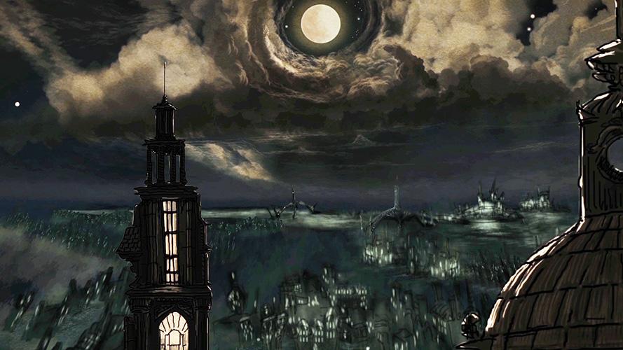 נוף ויקטוריאני אפל. מתוך 'צללי לילה'.