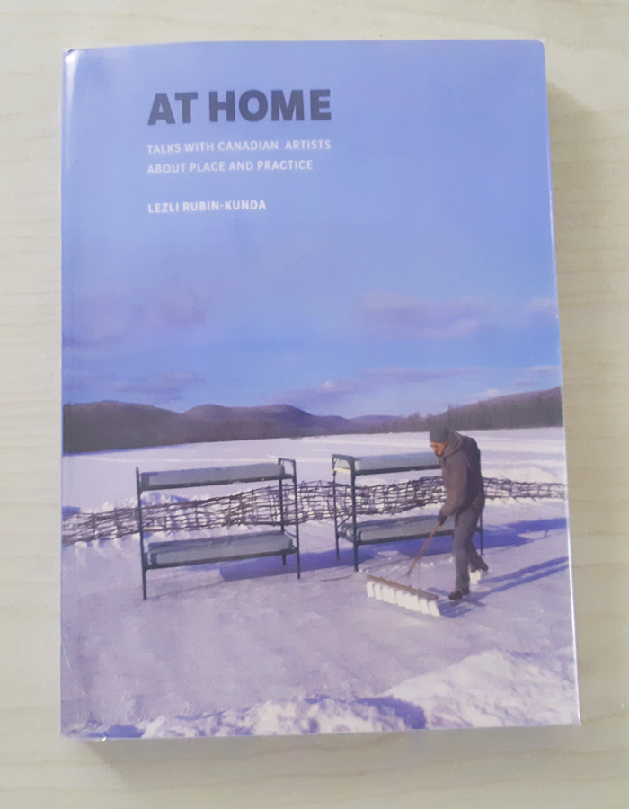 כריכת הספר At Home: Talks with Canadian Artists about Place and Practice