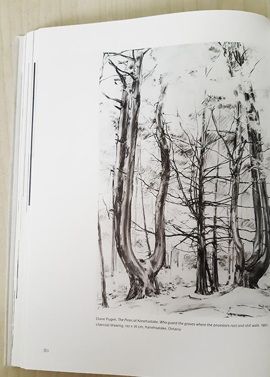 דיאנה פוגן, עצי האורן של קאנסטקה, אונטאריו, 1991.