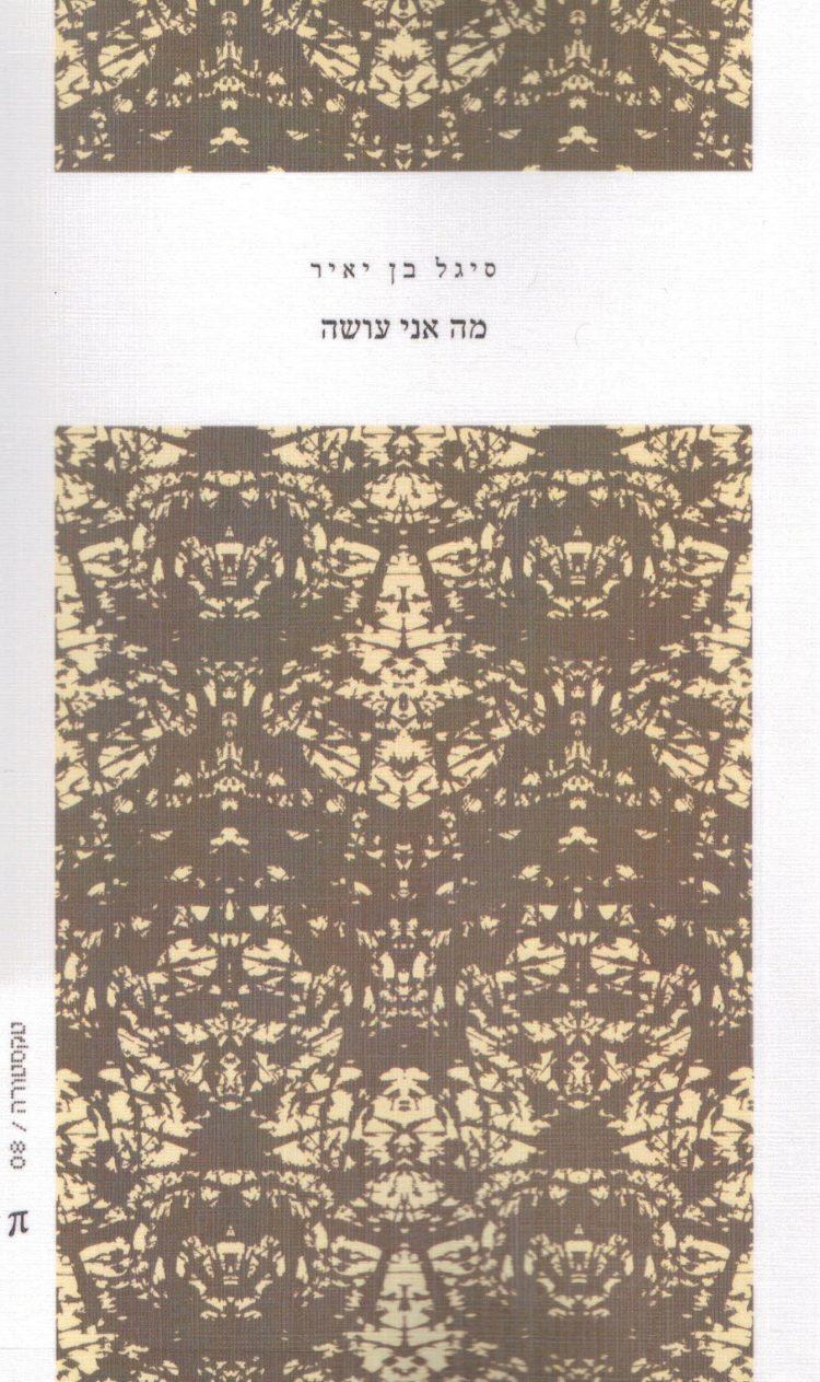 שני שירים של סיגל בן יאיר