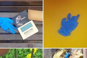 יומני הקורונה: כפפה כחולה