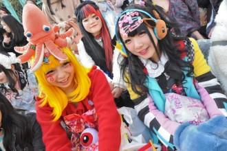 האראג'וקו סטייל: אופנת רחוב יפנית