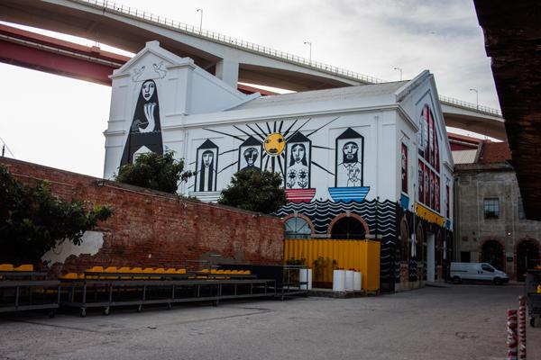 אומנות רחוב מתחם העיצוב LX-factory