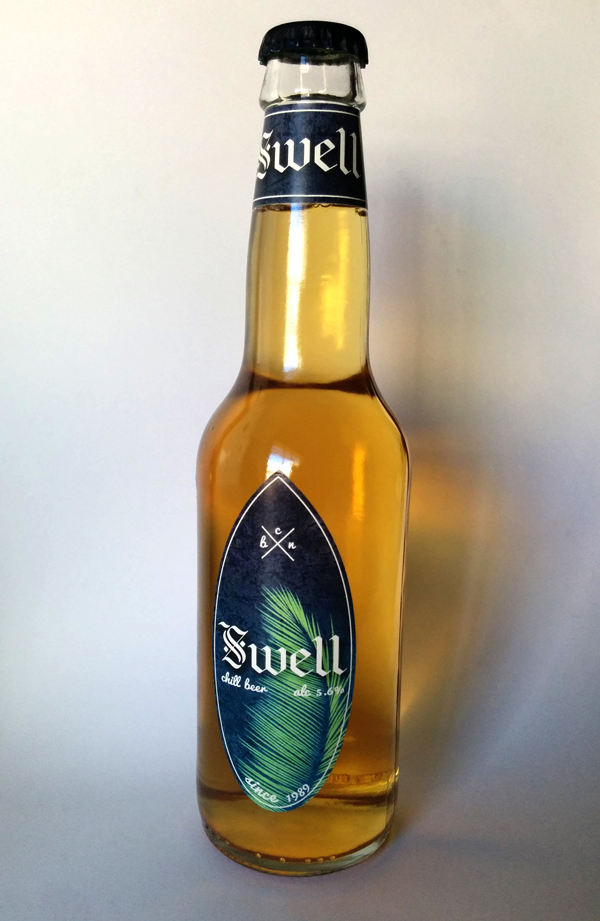 swell chiling beer brand