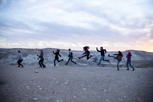 קומפוזיציה דינמית בשדה בוקר צילום: נדב מאיר