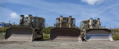 D9T armored bulldozers | Zachi Evenor