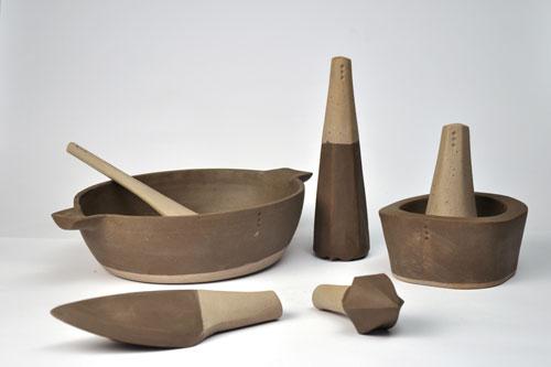 טריאנלה, כלים של אור חצרוני