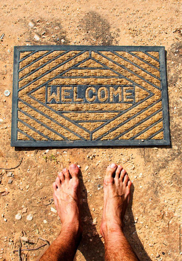 דנה דושקין- שטיח welcome