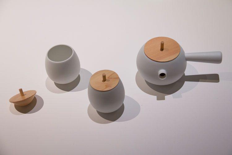 מערכת תה-סביבון, בין סיר למכסה המרווח שבין לבין. צילום: בר סהר