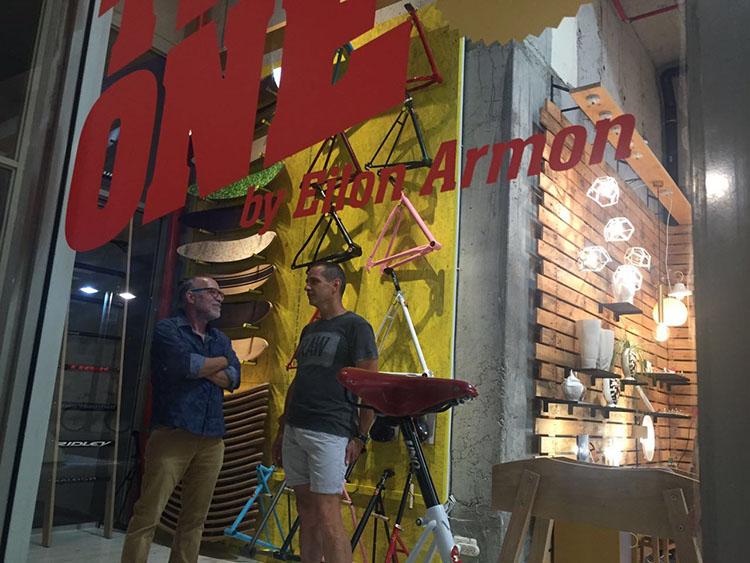 חנות פופ-אפ בגלריה סאגה. צילום: פדי מרגי