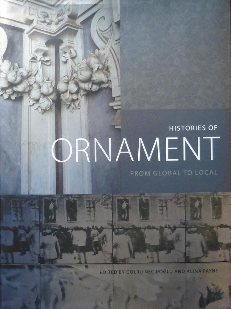 """כריכת הספר ״Histories of Ornament"""""""