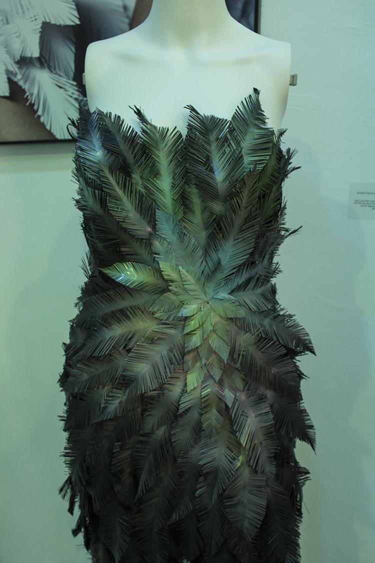 נוי שחר, דגמים העשויים מנייר, מפל, פלסטיק, וריסוסי צבע. עוצבו בהשראת בעלי כנף.