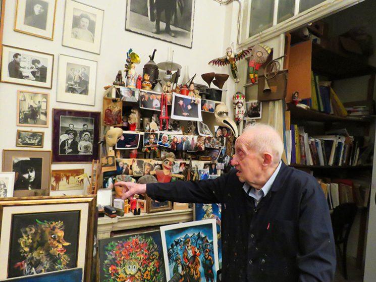 ברגנר מספר על הסטודיו