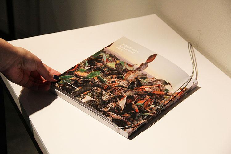 קטלוג התערוכה. צילום: דנה דושקין