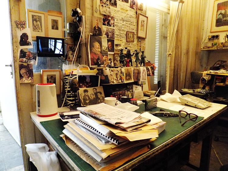 שולחן העבודה של ברגנר