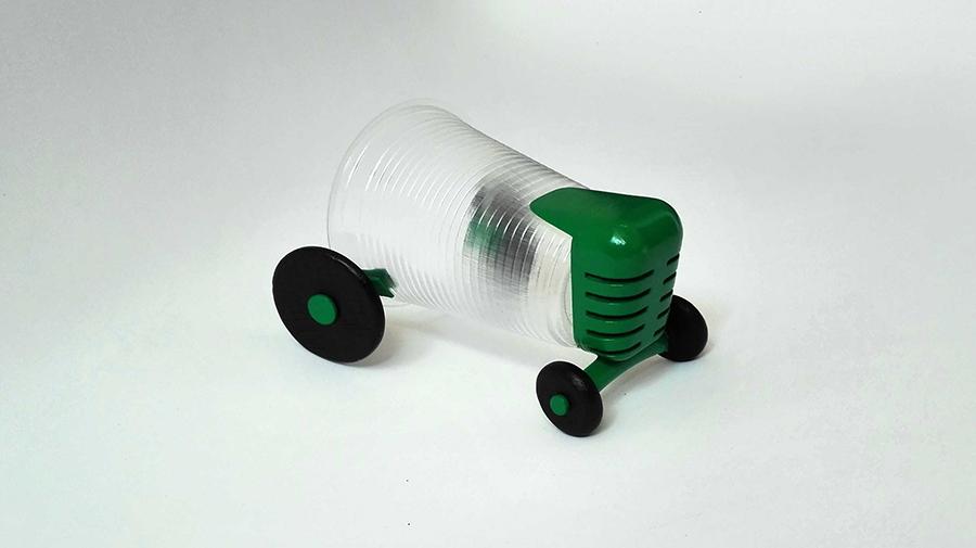מכונית רוח - מזול לנחשק. עיצוב: טל דנא