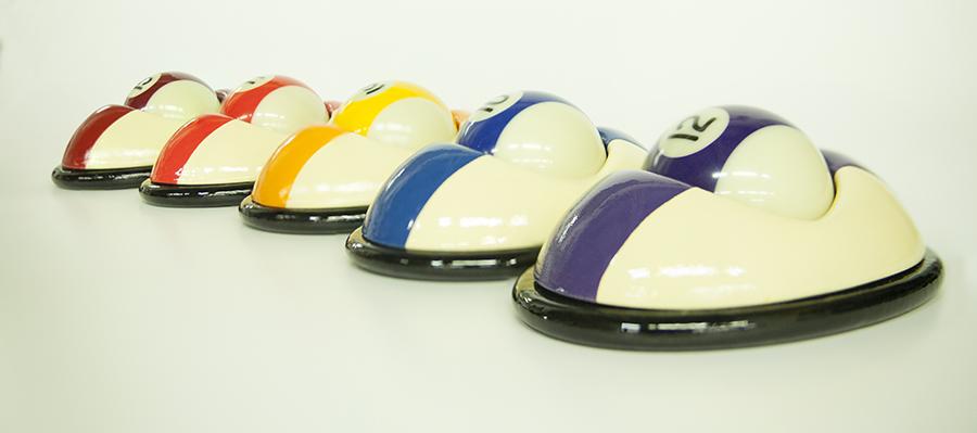 סנוקרת - כדורים ככוח מניע מכונית. עיצוב: שגיא שכטר