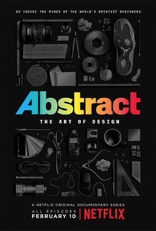 אבסטרקט - האמנות בעיצוב, פוסטר הסדרה