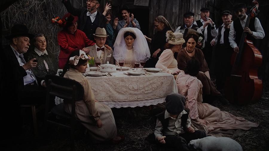 מיכל ברץ קורן, צילום ''חתונה''. צילום: אריאלה מרטינז