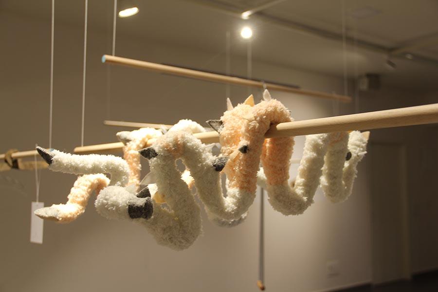 אלה מור אסולין - סדרת קולבים בהשראת המפלצת שבארון