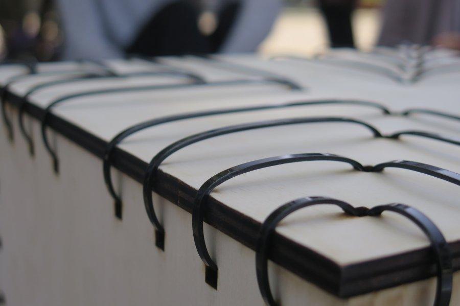 פאטרן כיסא אזיקונים. צילום: אשריאן מירב