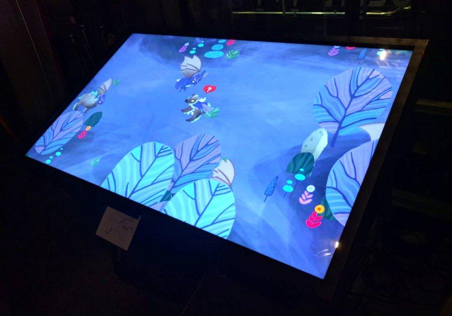 המשחק שיצרו בפרויקט Agility. צילום: תומר בלושינסקי