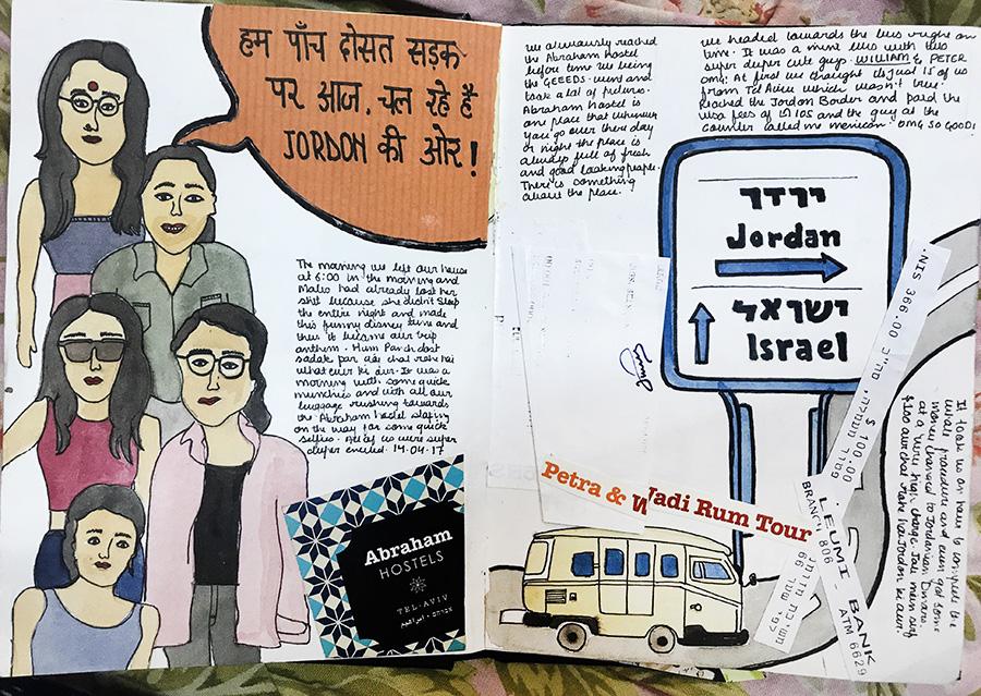 A trip to Jordon, Jigyasa Thukral