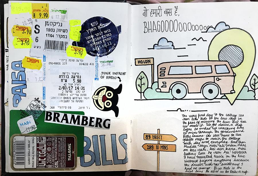 Bills and tickets, Jigyasa Thukral