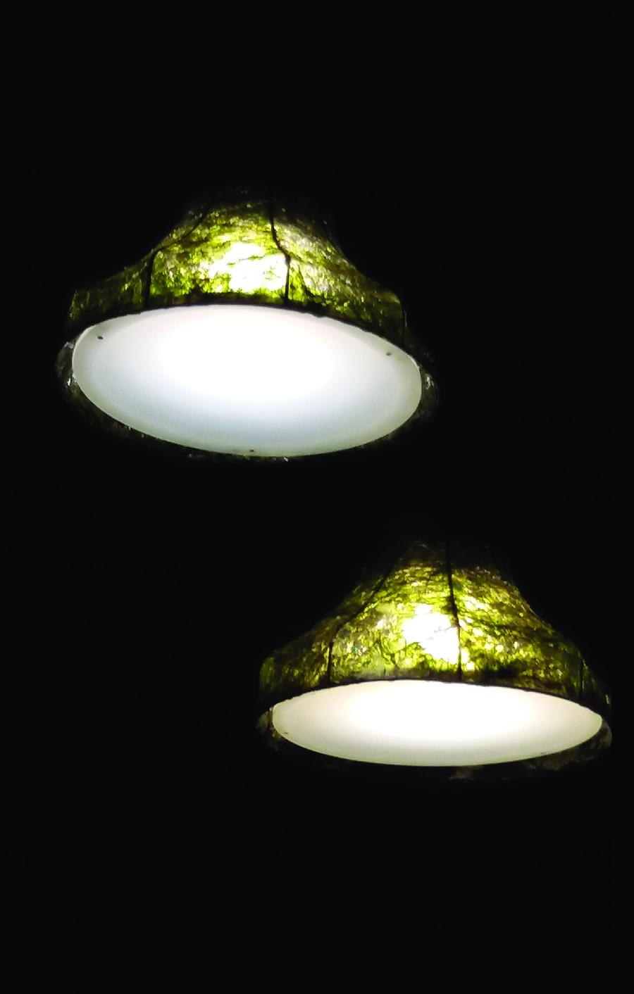 ניר מאירי-גופי תאורה, צילום: ניקול קצב.