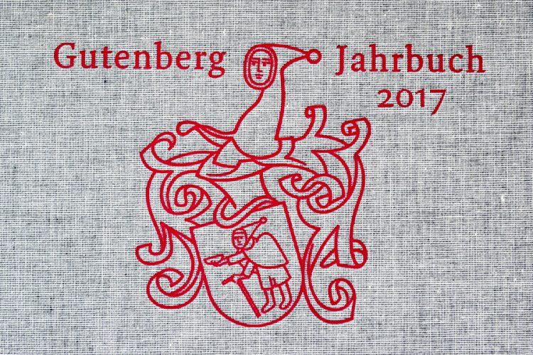 Gutenberg-Jahrbuch 2017. צילום: איתי ברן