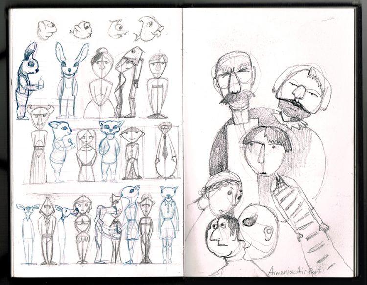 עיצוב דמויות, ארמניה