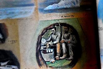 ספרי סקיצות של מגלי-ארצות: אמנות הגילוי וההרפתקה