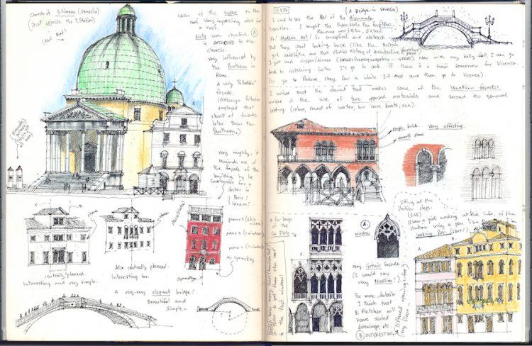 רישומים מוונציה
