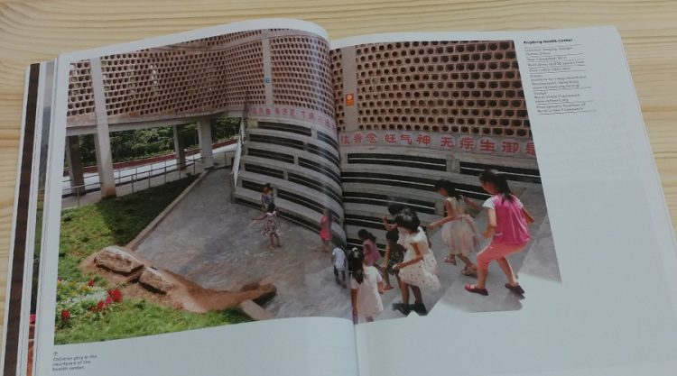 אזור משחקים עבור ילדי בית החולים: Angdong Health Center