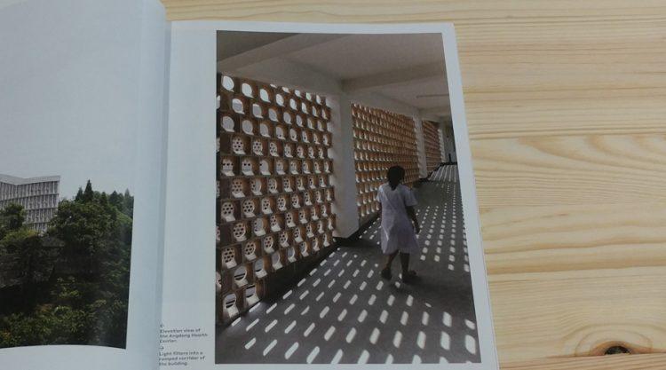 חזית חיצונית יוצרת צל במהלך היום: Angdong Health Center