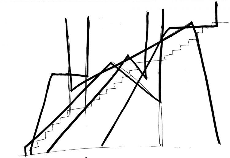 Noga David - Floating staircase 2