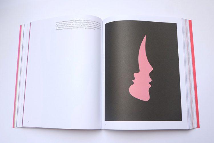 איור למאמר העוסק בהטרדות וכיצד ניתן להתגונן ממצבים מסוג זה. 'Stalking' cover for Giada Desiden and Alessandra Barsotti, Ponte, 2010