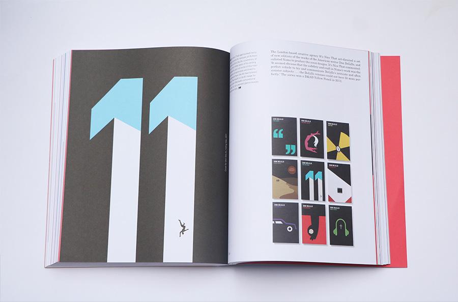 עטיפות מחודשות לספריו של הסופר דון דלילו (Don DeLillo) עבור המגזין It's Nice That. בצד ימין עטיפה לספר Falling Man העוסק בחייהם של כמה אנשים לאחר אסון התאומים, 2011.