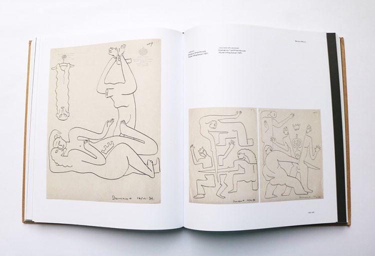 מיניות ואלימות ברישומים מתקופתו של אייזנשטיין במקסיקו. רישומים מסדרת Murder of King Duncan (1931)