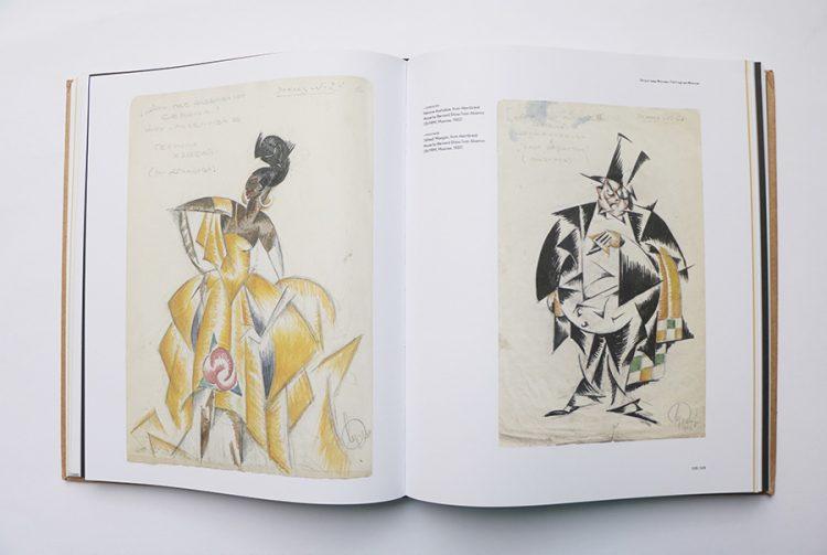 """עיצוב תלבושות למחזה """"Heartbreak House"""" משמאל: Hesione Hushabye מימין: Alfred Mangan"""